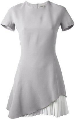 Victoria Beckham pleated hem dress