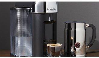 Crate & Barrel Nespresso ® VertuoLine Chrome Coffee-Espresso Maker Bundle