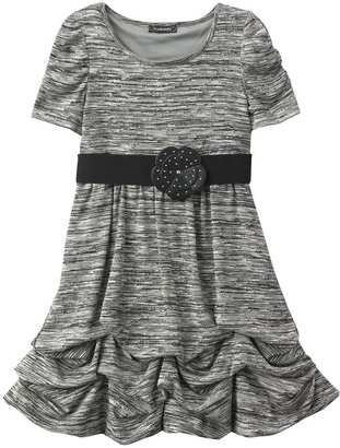 My Michelle space-dyed pick up-style dress - girls 7-16