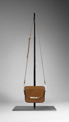 Burberry Bridle Leather Crossbody Bag