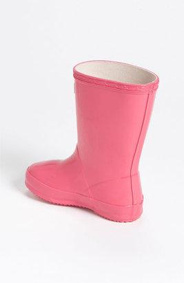Hunter 'Kid's First Gloss' Rain Boot (Walker & Toddler)