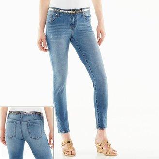 1010 Ankle Denim Leggings - Women's
