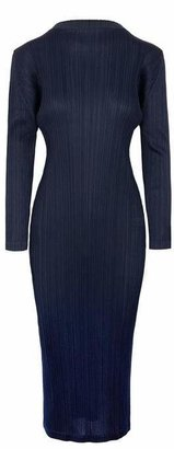 Pleats Please Issey Miyake Monthly Colours High-Neck Dress