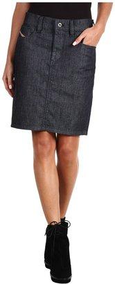 Diesel Soyal Denim Pencil Skirt (Denim) - Apparel