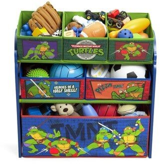 Delta Children Ninja Turtles Multi Bin Storage Organizer Delta Children