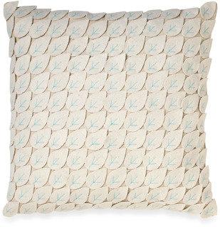 "notNeutral Leaf 18"" Square Toss Pillow"