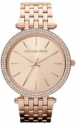 Michael Kors MK3192 Women's Darci Bracelet Strap Watch, Rose Gold
