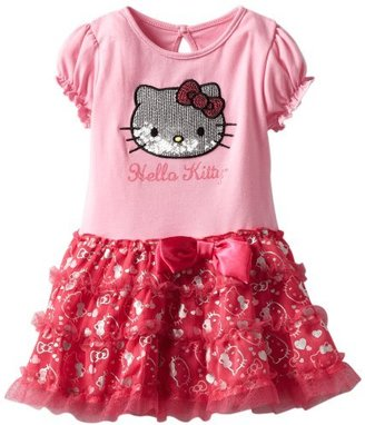Hello Kitty Baby-girls Infant Short Sleeve Top With Print Tutu