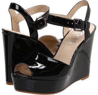 KORS Carmila (Black Patent) - Footwear