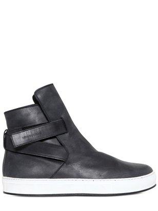 Kris Van Assche Strap Belted Smooth Calfskin Sneakers