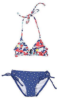 Roxy 7-16 2-Piece Ruffled Bloom Bikini Swimsuit