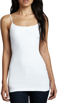 Neiman Marcus Cusp by Knit Jersey Camisole, White