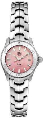 Tag Heuer Women's WJ1315.BA0573 Link Quartz Pink Mother of Pearl Watch