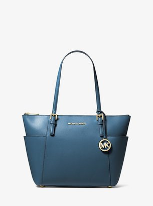 MICHAEL Michael Kors Jet Set Large Saffiano Leather Top-Zip Tote Bag