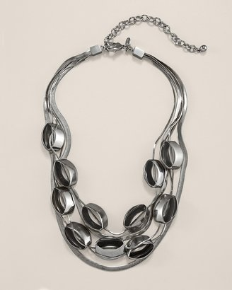 Chico's Madison Multistrand Necklace