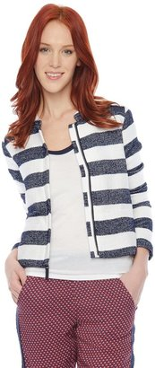 Splendid Rugby Stripe Boxy Jacket