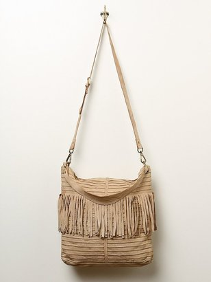 Free People Clover Fringe Hobo