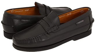 Mephisto Cap Vert (Black Smooth Leather) Men's Slip on Shoes