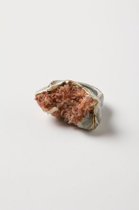 Anthropologie Earth & Ore Cocktail Ring