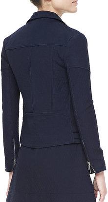 Victoria Beckham Denim Joan Cotton Biker Jacket