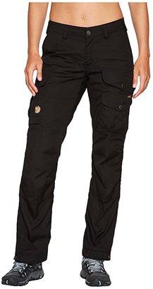 Fjallraven Vidda Pro (Black/Black) Women's Casual Pants