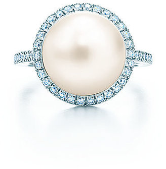 Tiffany & Co. South Sea Noble:Pearl Ring