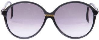 American Apparel Vintage Jacques Fath Black/Gold Accent Sunglasses