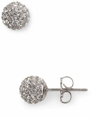 Nadri Small Crystal Ball Earrings