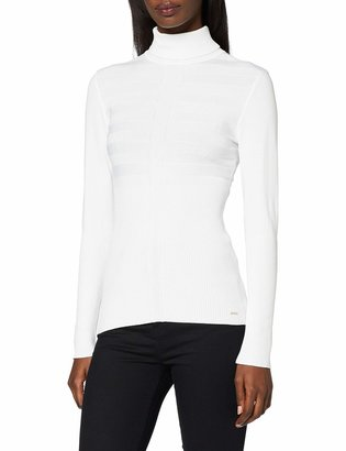 Morgan Women's 132-MENTOS.M Plain or unicolor Turtleneck Long sleeve Sweater