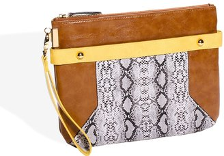 The Limited Large Zip-Close Wristlet