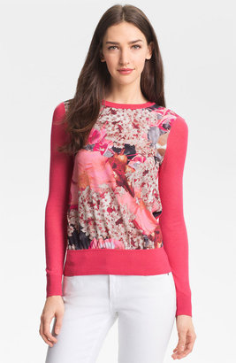 Ted Baker 'Digital Bloom' Print Sweater