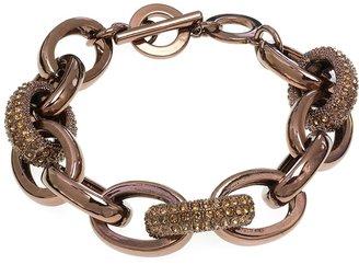Coldwater Creek Jeweled links bracelet