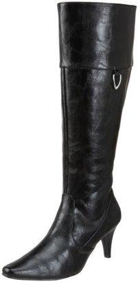 Annie Shoes Women's Battalia Wide-Calf Boot