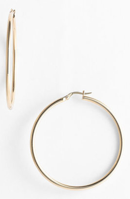 Women's Roberto Coin 45Mm Gold Hoop Earrings $720 thestylecure.com