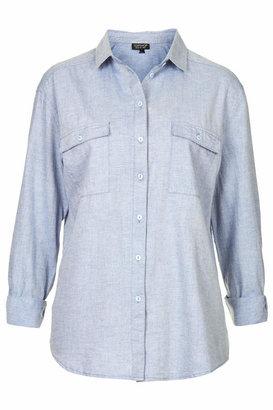 Topshop Long sleeve casual shirt