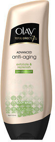 Olay Total Effects Advanced Anti-Aging Exfoliate & Replenish Body Wash