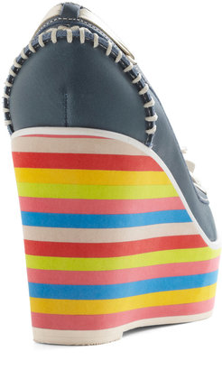 Jeffrey Campbell Loafer the Rainbow Wedge