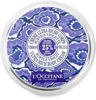 L'Occitane Shea Butter Subtle Violet Ultra Rich Body Cream
