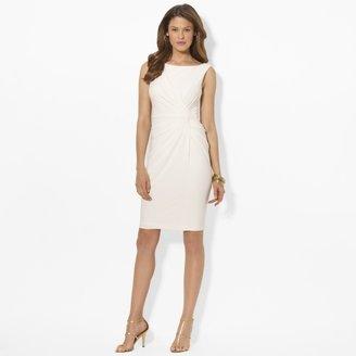Ralph Lauren Sleeveless Knotted Shift Dress