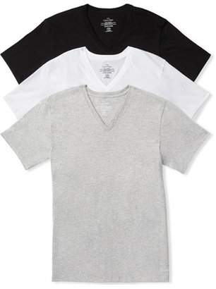 Men's Calvin Klein Assorted 3-Pack Classic Fit Cotton V-Neck T-Shirt $39.50 thestylecure.com