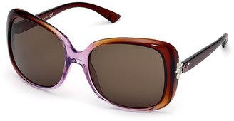 Swarovski Cate Lilac Brown Sunglasses