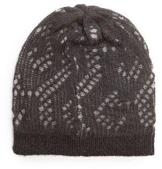 MANGO Openwork knit beanie