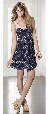 Jessica Simpson Misses' Cherry Blossom Dress Size S