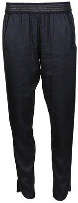 Alexander Wang leather panel track pant