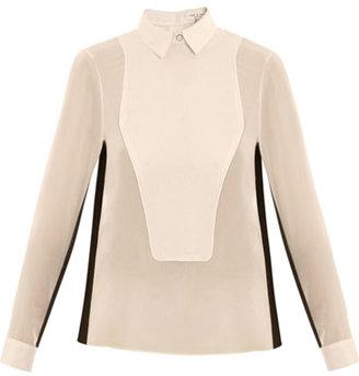 Rag and Bone Rag & Bone Back button tux blouse