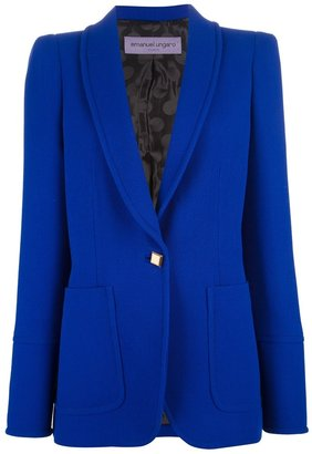Ungaro single button blazer
