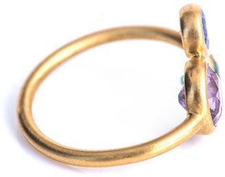 Marie Helene De Taillac Marie-Hélène De Taillac Aquamarine, tanzanite & tourmaline ring