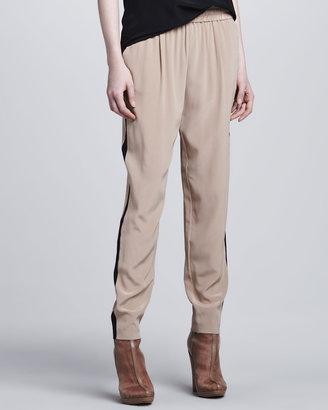 Rachel Zoe Emilia Elastic-Waist Pants