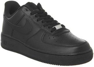 Nike Force 1 Trainers Black
