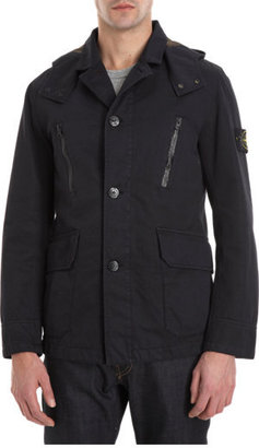 Stone Island Removable Hood Field Jacket